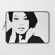 Black & White Beauty Laptop Sleeve