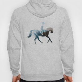 Horse (Canter on the beach) Hoody