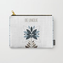 Be unique - Retro flowers Carry-All Pouch