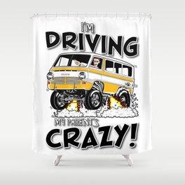 69' Gasser van for Dean Shower Curtain