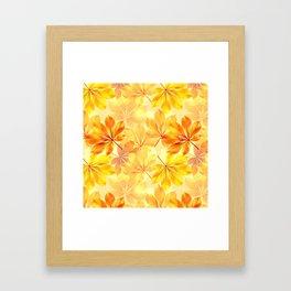 Autumn leaves #11 Framed Art Print