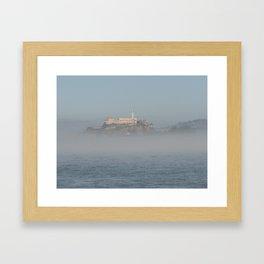 Mystic island Framed Art Print