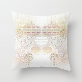 Eid Lanterns Throw Pillow