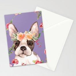 Vintage French Bulldog Stationery Cards