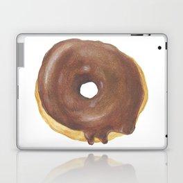 Chocolate Iced Doughnut Laptop & iPad Skin