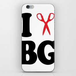 I Scissor Bianca Gervais iPhone Skin