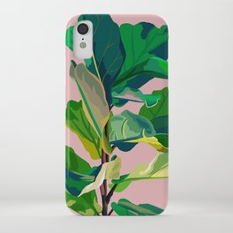 fiddle leaf fig iPhone Case