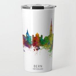 Bern Switzerland Skyline Travel Mug