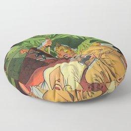 GHOST COMICS Floor Pillow