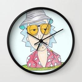 Wubba Lubba Dub Dub in Las Vegas Wall Clock