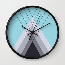 Iglu Island Paradise Wall Clock