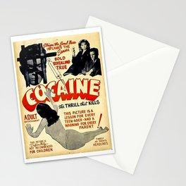 Vintage Cocaine Propaganda Poster Stationery Cards