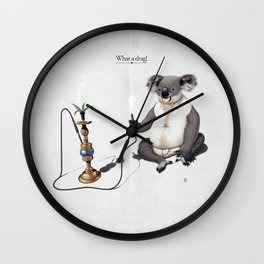 What a drag! Wall Clock