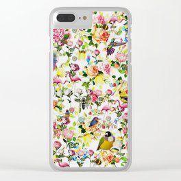 Hello Summer 2 Clear iPhone Case