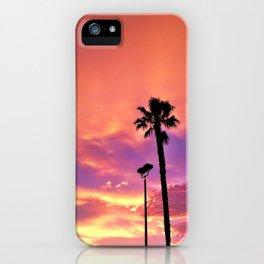 "Hermosa Beach ""Pink Sky"" iPhone Case"