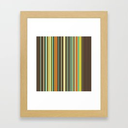 Autumn Grass Framed Art Print