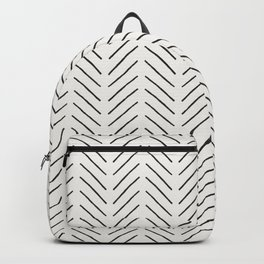 Arrow Tip Pattern Backpack