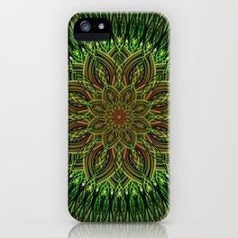 Earth Flower Mandala iPhone Case