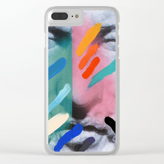 Composition on Panel 6 Clear iPhone Case