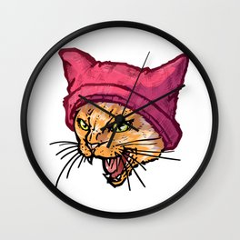 The Cat in the Hat (Tiger) Wall Clock