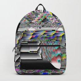 glitch vhs error Backpack