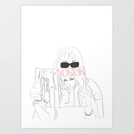 cbefc41feba67 Fashion Art Prints | Society6
