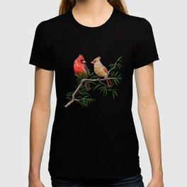 Northern Cardinal Mates T-shirt
