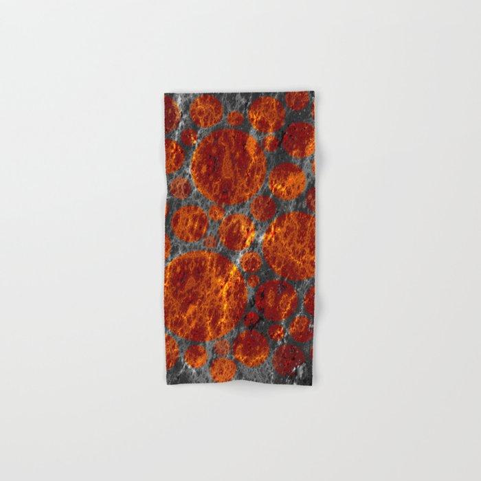 red dwarf region Hand & Bath Towel