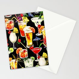 Cocktail Hour in the Tropics Stationery Cards