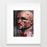 clown Framed Art Prints featuring 'Clown' by Arthur R Piwko (picpoc)