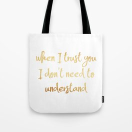 New wine hillsong Tote Bag