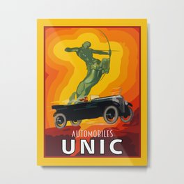 Unic automobiles Metal Print