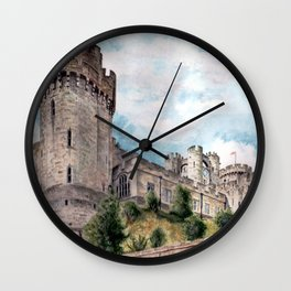 Warwick Castle Wall Clock