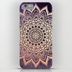 GOLD NIGHTS MANDALA IN PURPLE iPhone 6s Plus Slim Case