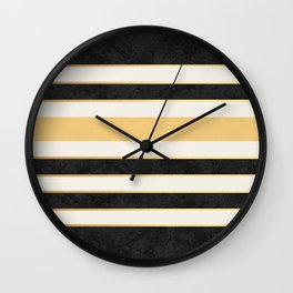 Marble stripes Wall Clock