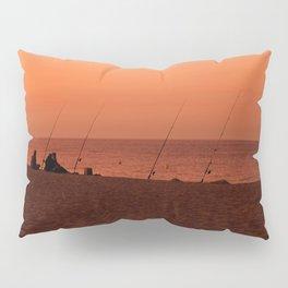 Evening Fishermen Pillow Sham
