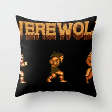 Unleash the beast- werewolf tribute Throw Pillow
