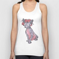 lucy Tank Tops featuring Lucy by theroyalbubblemaker