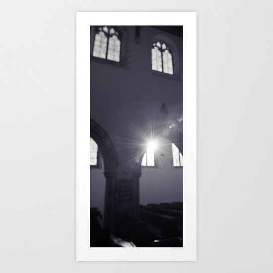blurred faith... Art Print