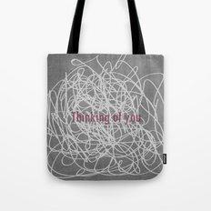 Concrete & Letters II Tote Bag