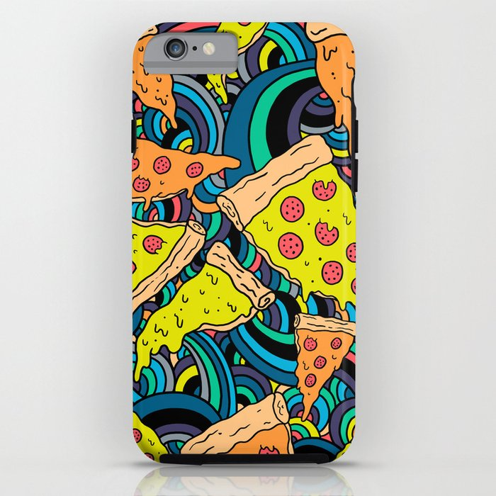 Pizza Meditation iPhone Case