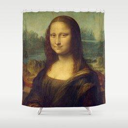 MONA LISA - LEONARDO DA VINCI Shower Curtain