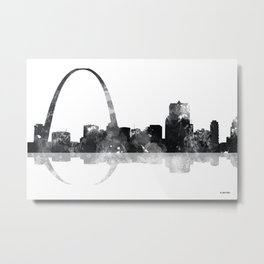St Louis, Missouri skyline Metal Print