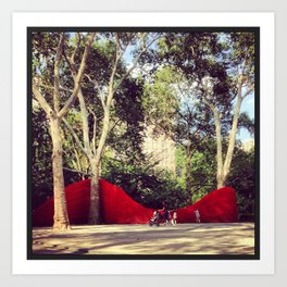 Madison Square park in the spring... Art Print