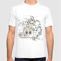 Sugar Monsters White Mens Fitted Tee MEDIUM