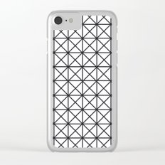 Prism Pattern Clear iPhone Case