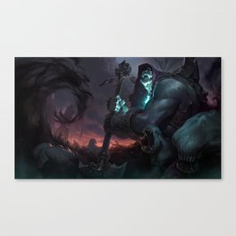 Classic Yorick League Of Legends Canvas Print