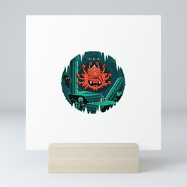 Hide and Seeker Mini Art Print