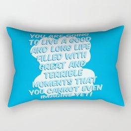 You Cannot Even Imagine Rectangular Pillow