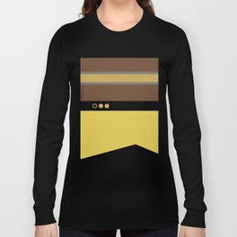 Geordie La Forge - Minimalist Star Trek TNG The Next Generation - 1701 D startrek Trektangles Long Sleeve T-shirt
